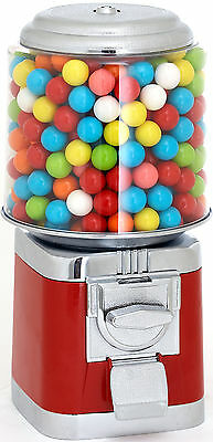 Holiday Sale! - All Metal Gumball / Candy Machine by Rhino Vending - RED