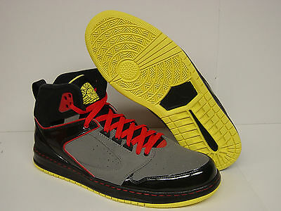 sports shoes 8976a f8e0e NEW Mens NIKE Jordan Sixty Club 535790 016 Black Red Yellow Sneakers Shoes