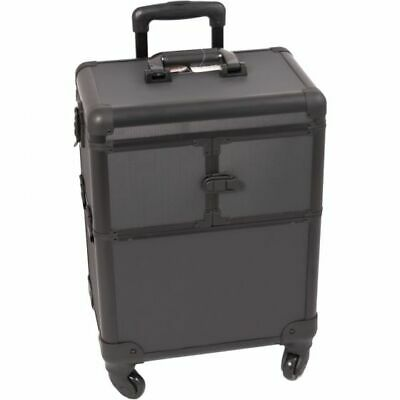 Travel Case for Tattoo and Piercing Conventions All Black