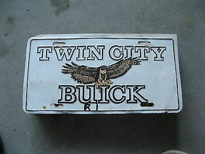 Twin City Buick Rhode Island Dealership Booster License Plate