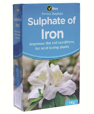 831916 Vitax Sulphate of Iron 1kg