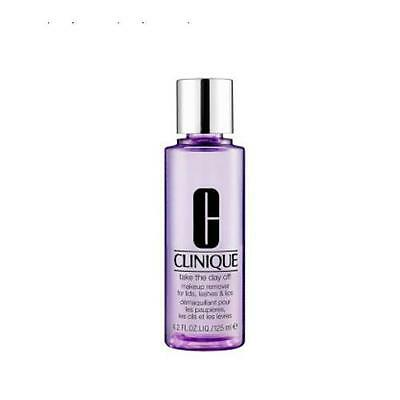 Full Size 4.2oz Clinique Take The Day Off Makeup Remover For Lids, Lashes & Lips