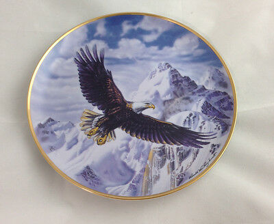 Franklin Mint On Freedom's Wing Collector Plate