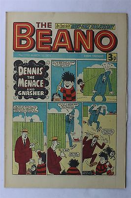 The Beano #1702 March 1st 1975 FN Vintage Comic Bronze Age Dennis The Menace