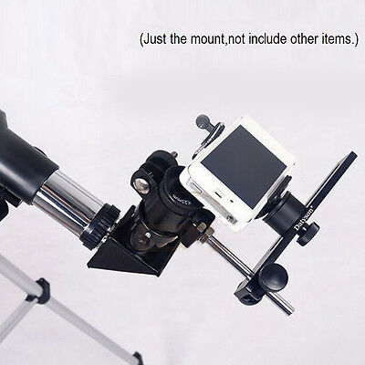 Universal Metal Spotting Scope Telescope Firm Adapter Mount Bracket for Camera