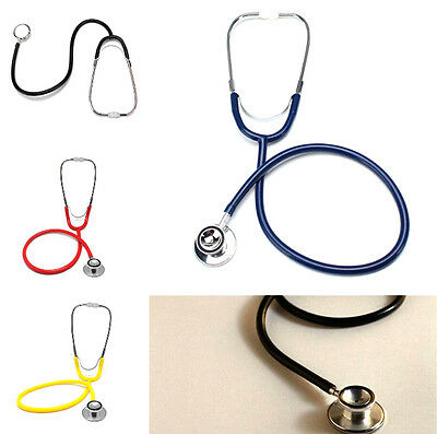 Portable Dual Head EMT Clinical Stethoscope Medical Auscultation Device New