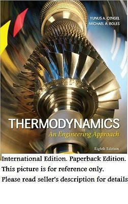 8e Thermodynamics: An Engineering Approach (S.I.UNITS)