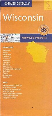 Road Map of Wisconsin, by Rand McNally