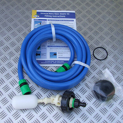 MAINS WATER ADAPTOR KIT for AQUAROLL WATER HOG etc MOTORHOME CARAVAN BOAT CAMPER