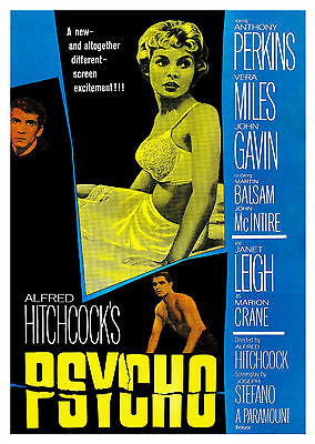 Psycho (1960) V2 - A1/A2 Poster **BUY ANY 2 AND GET 1 FREE OFFER**