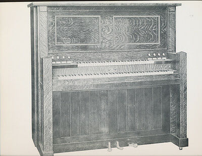 """REPRODUCO player Piano - TWO SCANS - vintage glossy 9.5x12"""" advert"""