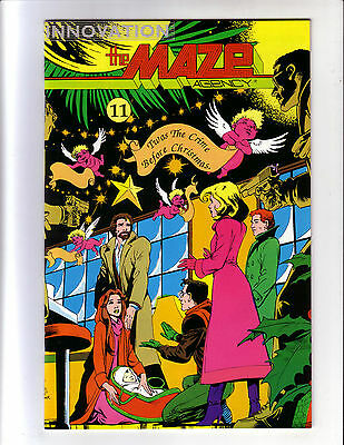 The Maze Agency #11 High Grade (Vf/nm) Innovation