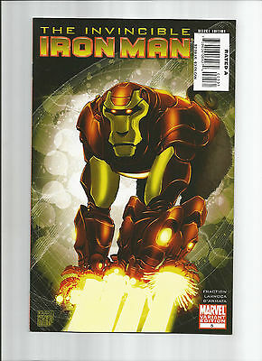 Invincible Iron Man #5 Variant (Vf-) Marvel