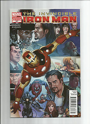 Iron Man #527 Variant High Grade (Nm)