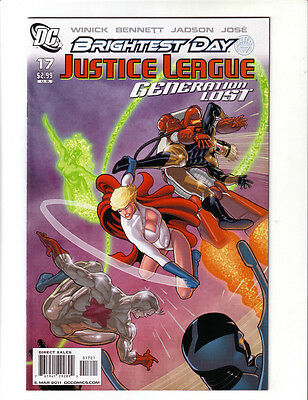 Justice League Generation Lost #17 Variant