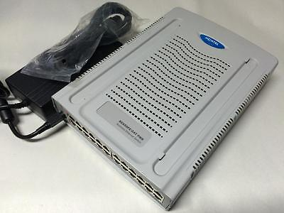 New No Box Nortel Bes50Fe-24T Pwr (Nt5S00Bae6) 24 Ports W/ Power Supply
