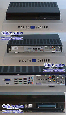 MacroSystem Streamcorder - 500 GB HD, 2 GB RAM !!! RelaxVision 5.8h incl. Bogart