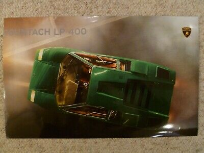 1974 – 1978 Lamborghini Countach LP 400 Picture, Poster -- RARE!! Awesome L@@K