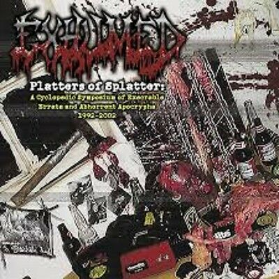 EXHUMED - Platters Of Splatter 4xLP Dead Infection Haemorrhage Carcass Necrony