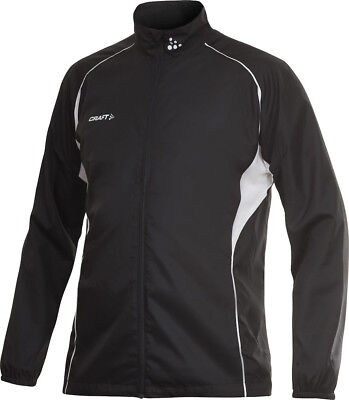 Craft T & F Mens Wind Running Jacket - Black