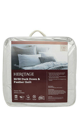 NEW Heritage 50/50 Duck Down & Feather Quilt