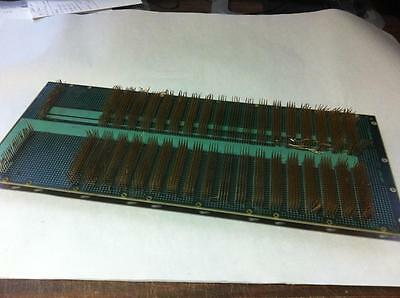 High Yield 7412 Pin (2 Sides Of 3706 Pin) Gold Plated Pin Board Scrap Recovery