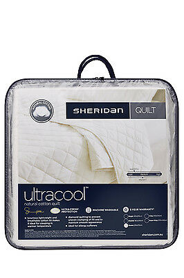 NEW Sheridan Ultracool Cotton Quilt