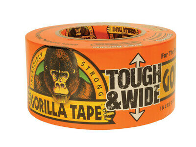 Gorilla Tape Tough & Wide - Durable & Strong Cloth Adhesive Tape - 73mm x 27m