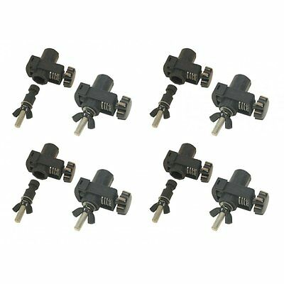 Rhino 4 x Quick Clamp - Quick Release Lighting Mount - Pack of 4