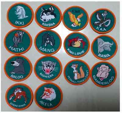 Cub Scout Scouts Scouting Jungle Book Badge Collection
