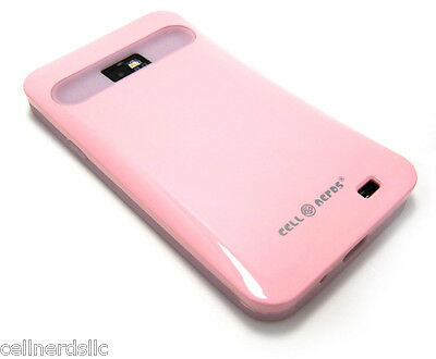 Straight Talk Samsung Galaxy S2 SGH-S959G Cell-Nerds Duo Case Pink and Glow