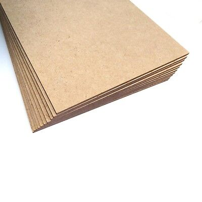 Wooden MDF High Quality Plain Blank Medite A5 Sheets Boards Laser Cut Service