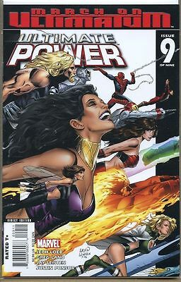 Ultimate Power 2006 series # 9 very fine comic book
