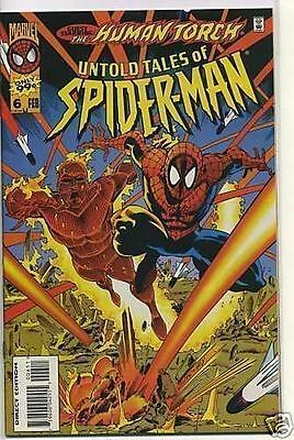 Untold Tales of Spider-man 1995 series # 6 near mint comic book