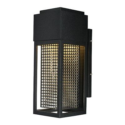 Maxim Lighting 53597GBKSST Townhouse Outdoor LED Wall Sconce