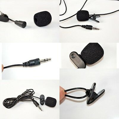 New Audio Neewer 3.5mm Hands Free Computer Clip on Mini Lapel Microphone