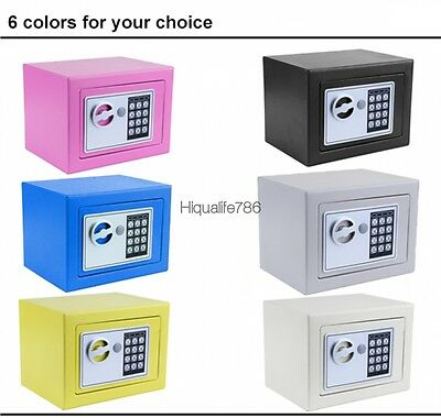 Steel Fireproof Digital Electronic Depository Safe Box Wall Mount Security Safes