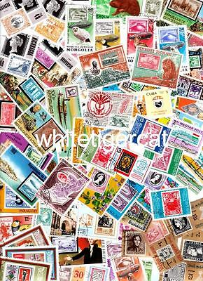 100 STAMP-ON-STAMP many very size with nice sets !!! all different