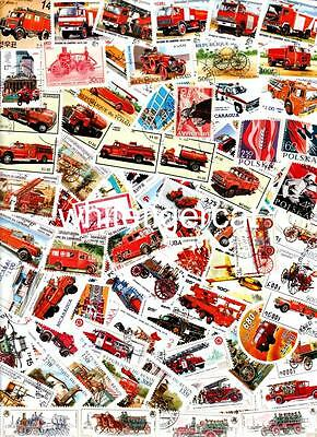 100 FIREFIGHTING Theme !! many nice sets & large size !! all different