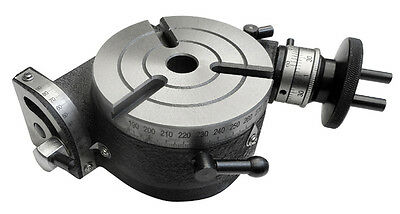 """Rotary Table With Tilting Table 4""""/100mm MT-2"""