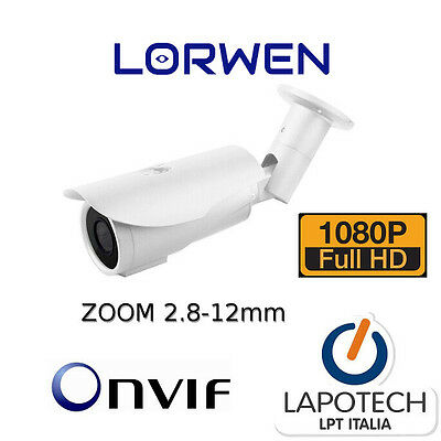 Ip Camera Onvif Lig60S200 Wdr Esterno Acesee Cam Video Varizoom 3 Mpx 1080P 3 Mp