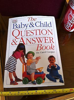 The Baby & Child Question & Answer Book Dr. Carol Cooper DK Helpful Book