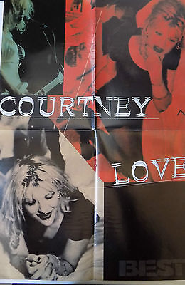 Poster Courtney Love / foo fighters