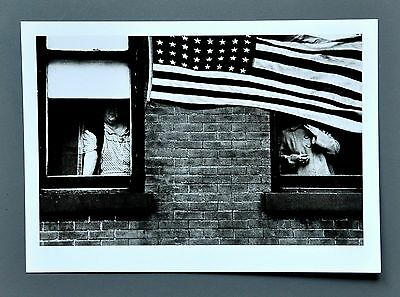 Robert Frank Ltd. Ed. Photo 17x24cm Umzug in Hoboken New Jersey USA Parade B&W