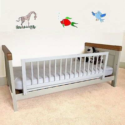 Safetots Bed Guard Wooden White