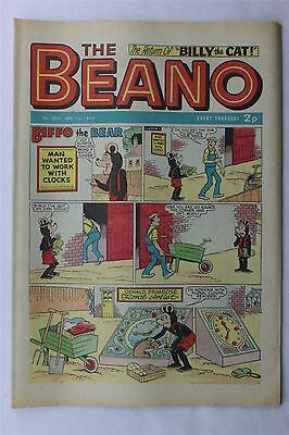 The Beano #1637 December 1st 1973 Vintage Comic Dennis The Menace
