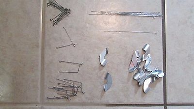 Build Your Own Spinnerbaits - 12 Spinner Blades - Spinner Wire   (CA 13)