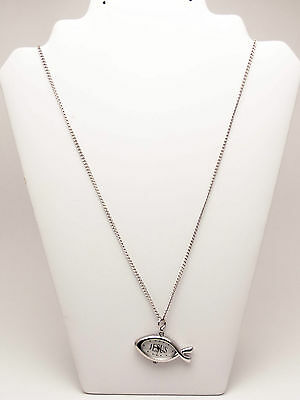 Infinity: Jesus Fish Watch Pendent With Neckless Chain