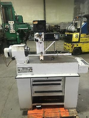 DeVlieg Tool Presetter with Work Head and Optical Comparator