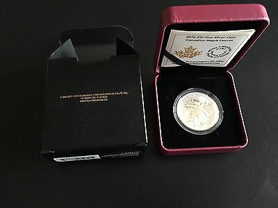 2016 Canada 1/2 oz Silver $10 Canadian Maple Leaves